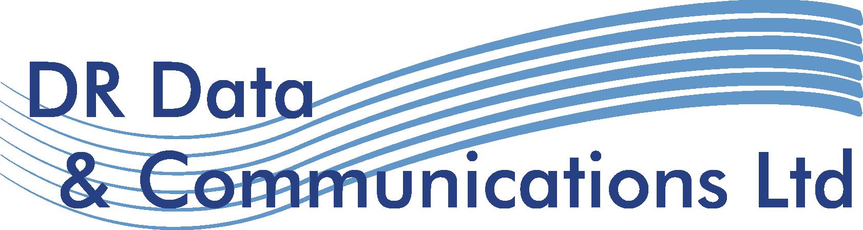 DR Data & Communications Logo